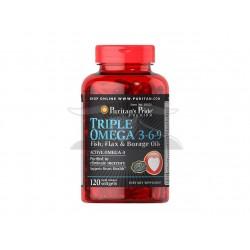 P.P :Maximum Strength Triple Omega 3-6-9