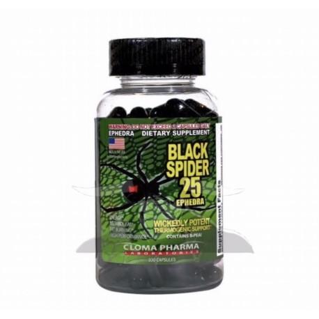 Black Spider 25 Ephedra