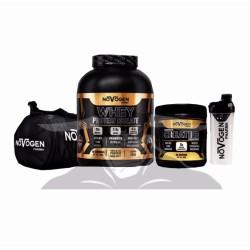 Novogen Isolate + Creatine + Shaker + Bag